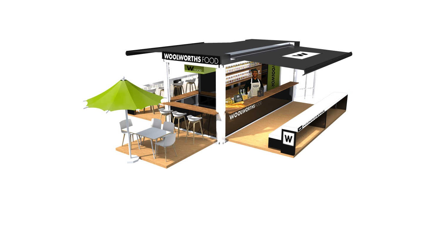 Woolworths Mobile Cafe