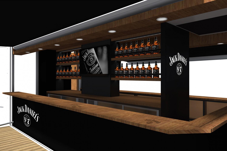 Jack Daniels Mobile Bar