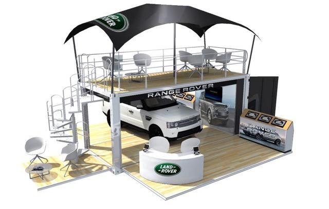 Land Rover Mobile Exhibition Unit