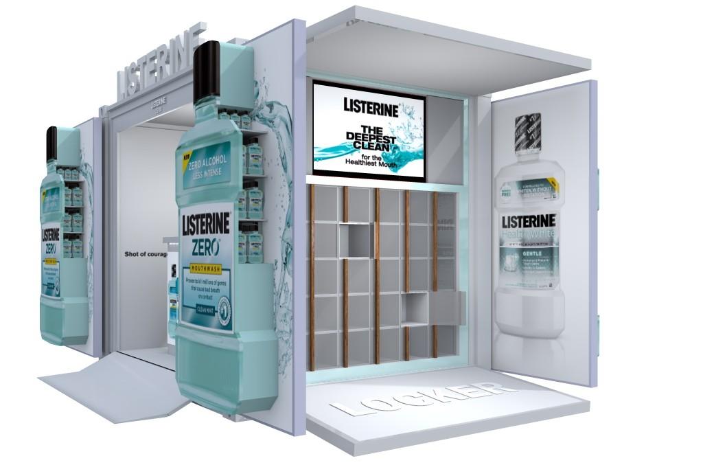 Listerine Exhibition Unit